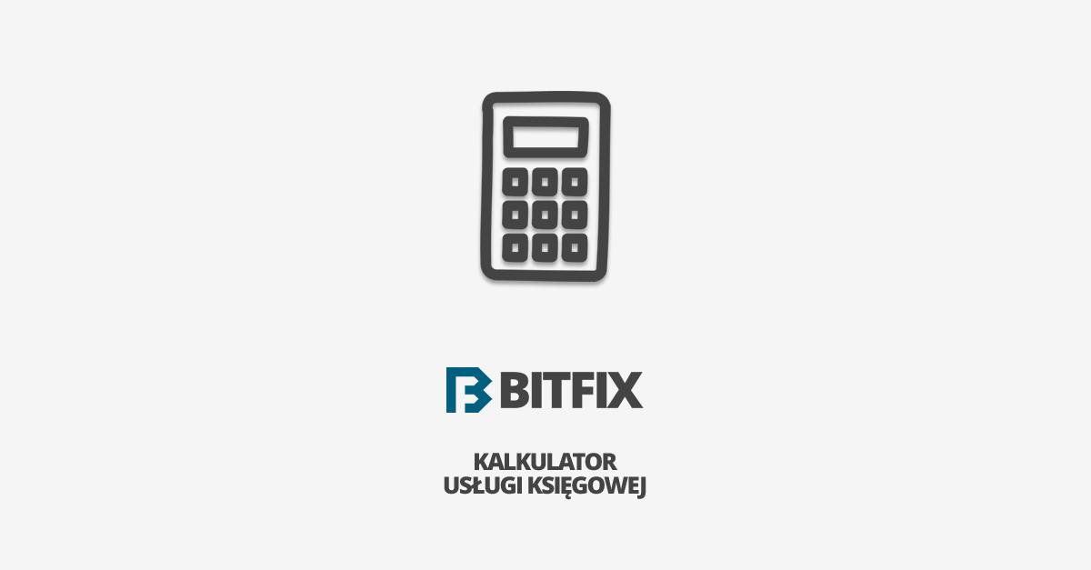BITFIX - kalkulator usług księgowych